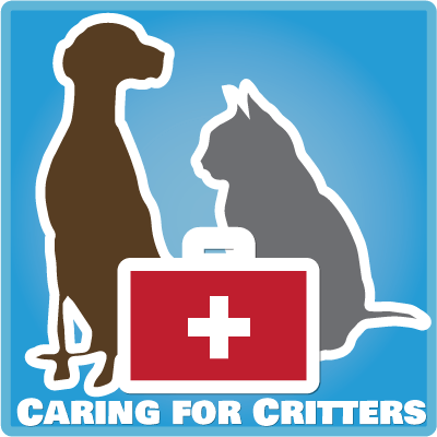 "Caring for Critters blog ""badge"""