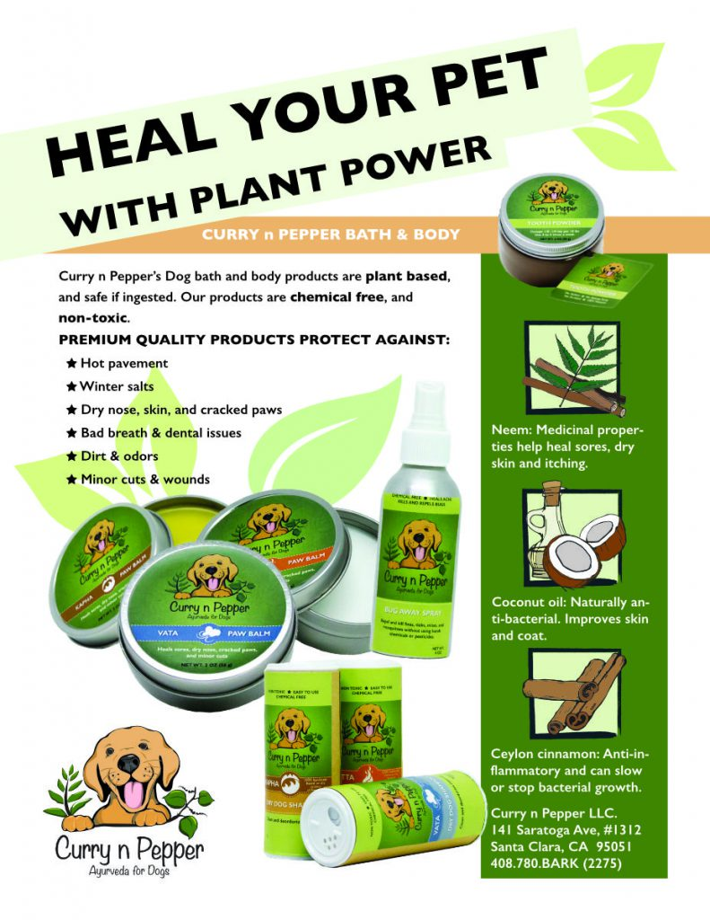 Plant based pet products sell sheet design sample