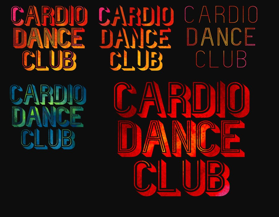 Cardio Dance Club square logo version